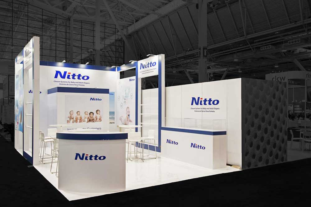 nitto exhibition stand