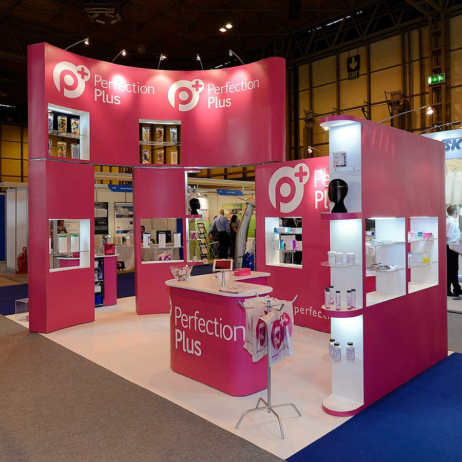 exhibition stands perfection plus