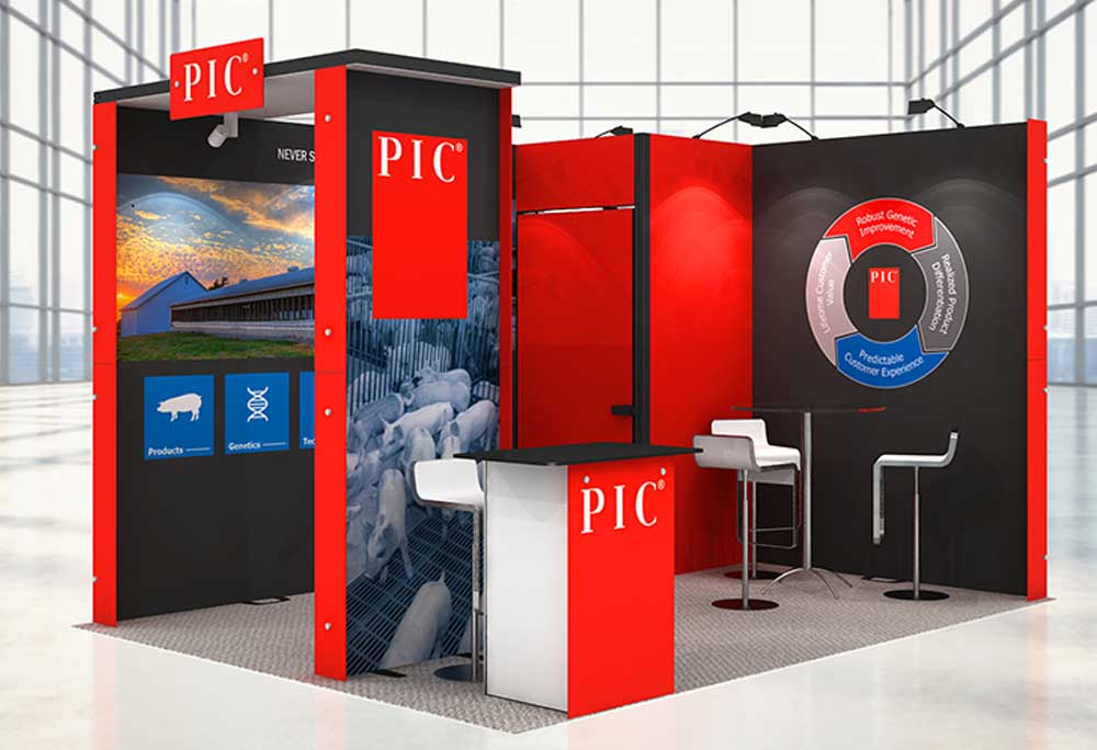 outdoor exhibition stands