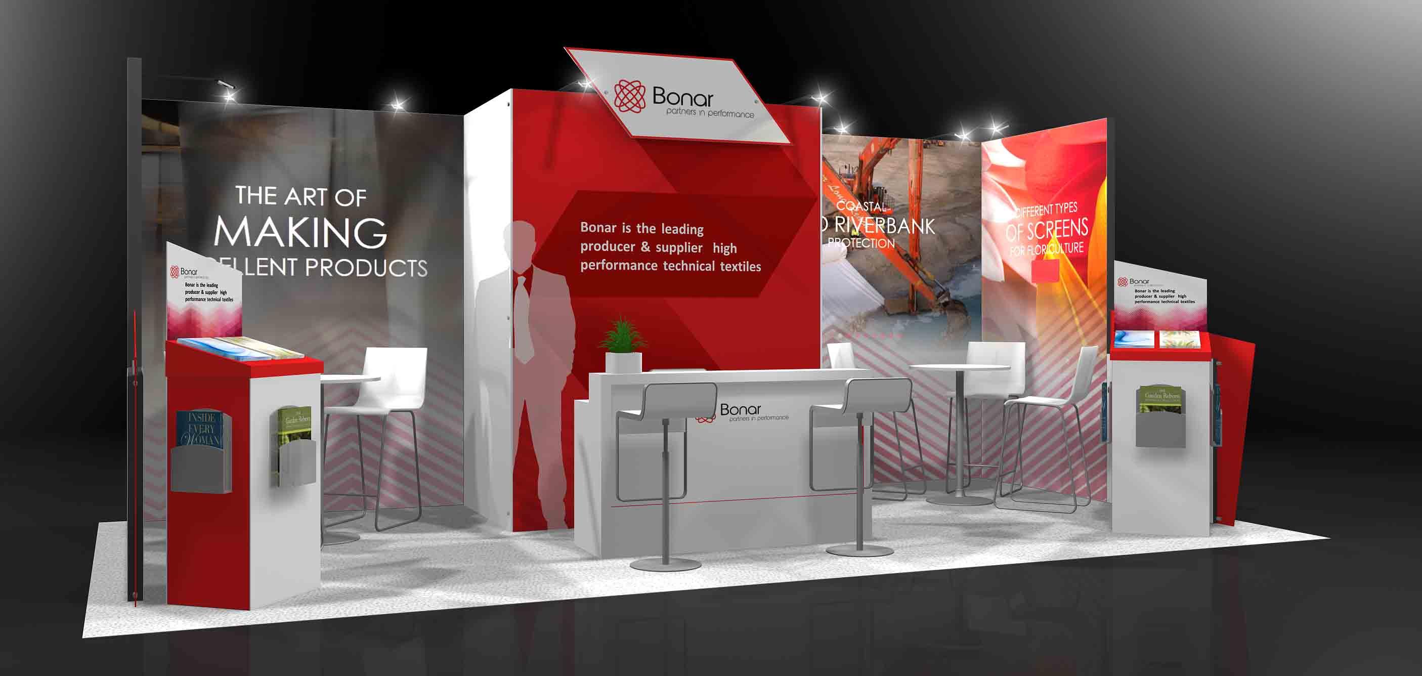 exhibition stand design in dubai