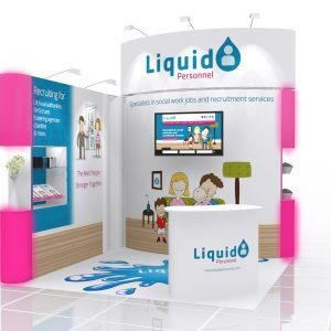 small exhibition stand