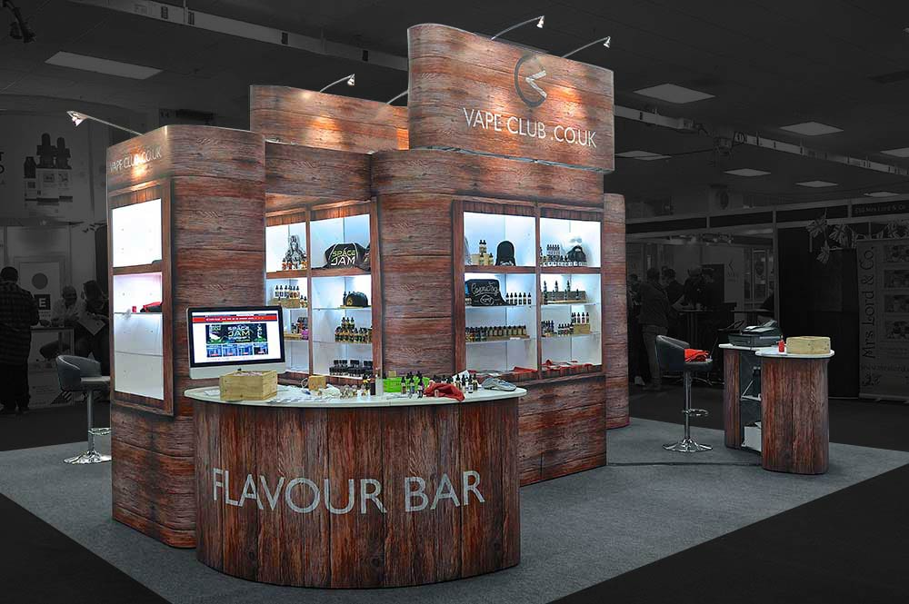 Exhibition Stands Flavour Bar