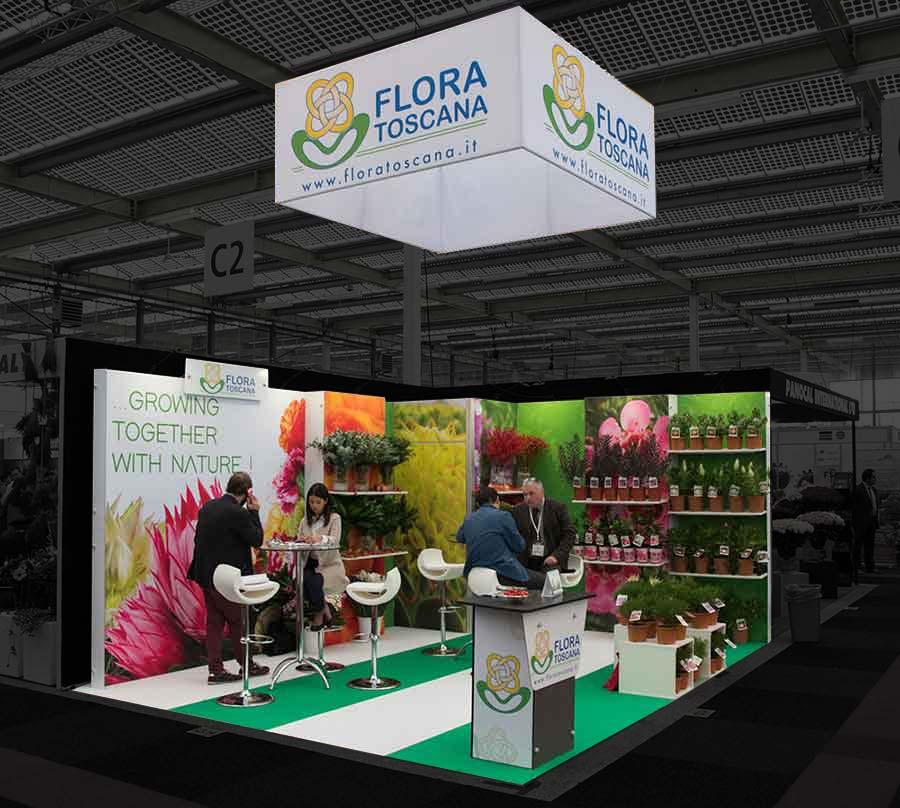 Exhibition Stands Flora Toscana