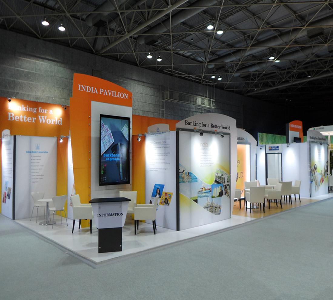 exhibition booth contractor