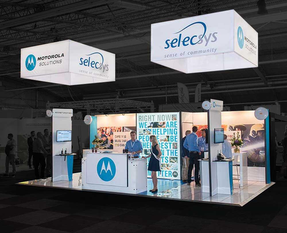 Exhibition Stands Motorola Solution
