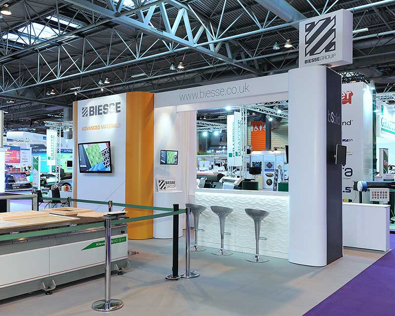exhibition stands biesse