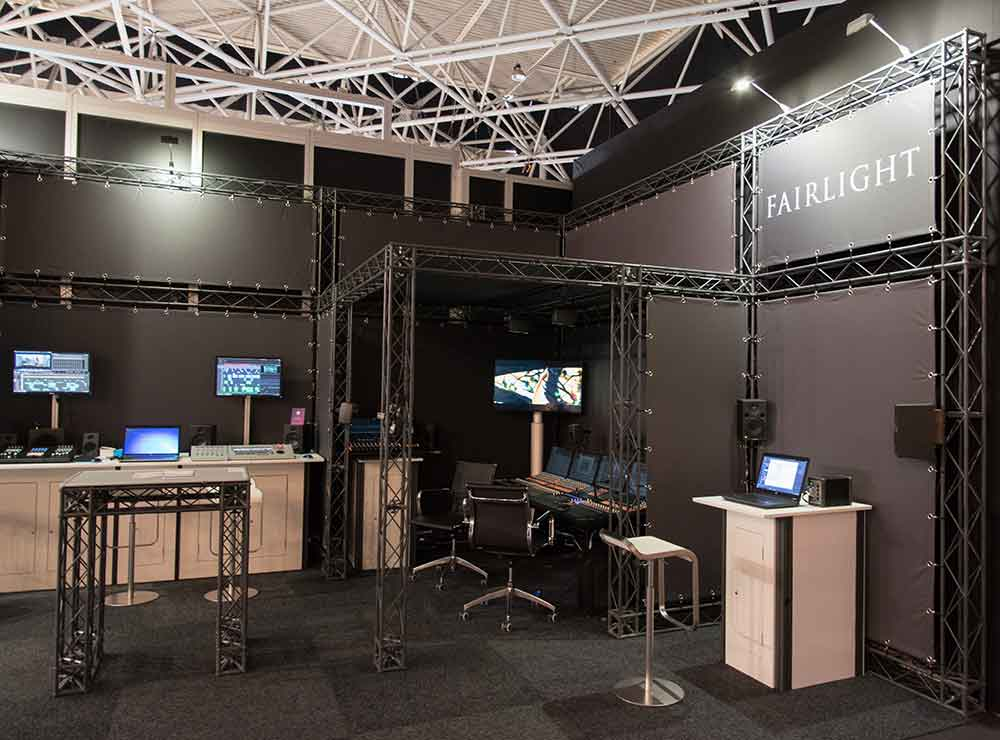 fairlight exhibition stand