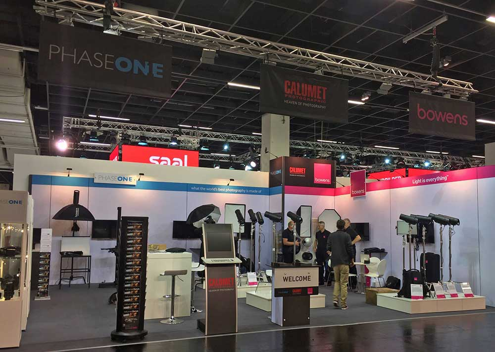 phaseone exhibition stand
