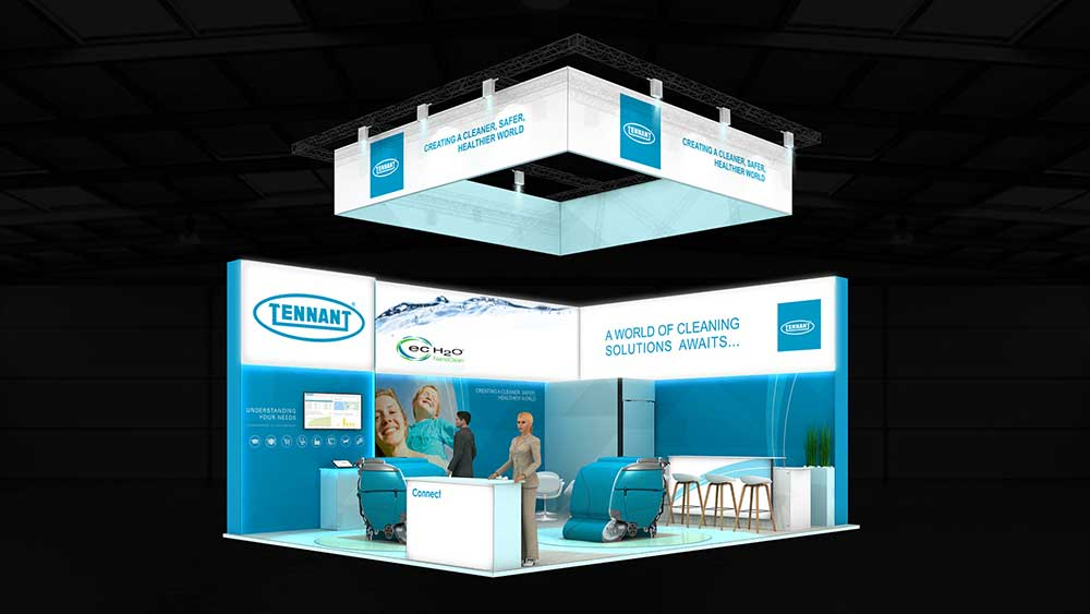 tennat exhibition stand