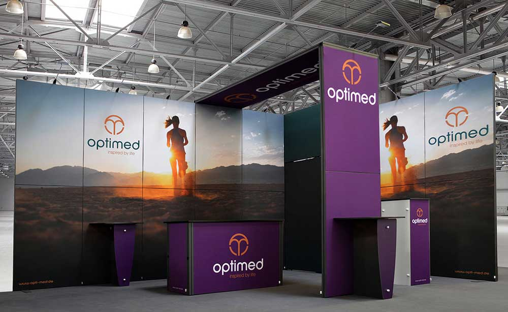 exhibition stands optimed