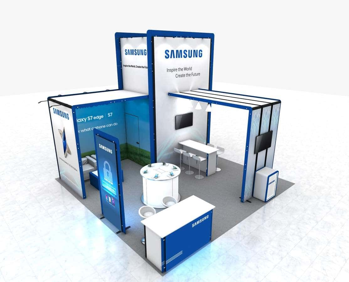 exhibition booth rental