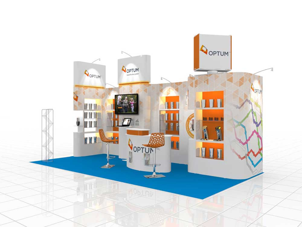 booth stand design