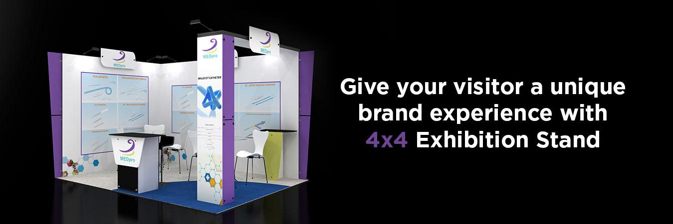 4X4 Exhibition Stands