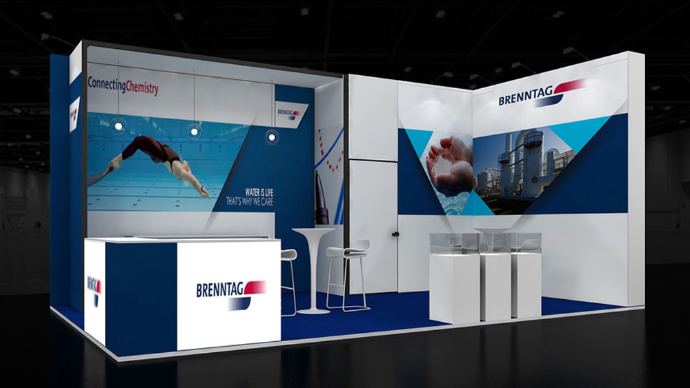 Simple Exhibition Stand Goals : M corner exhibition stands