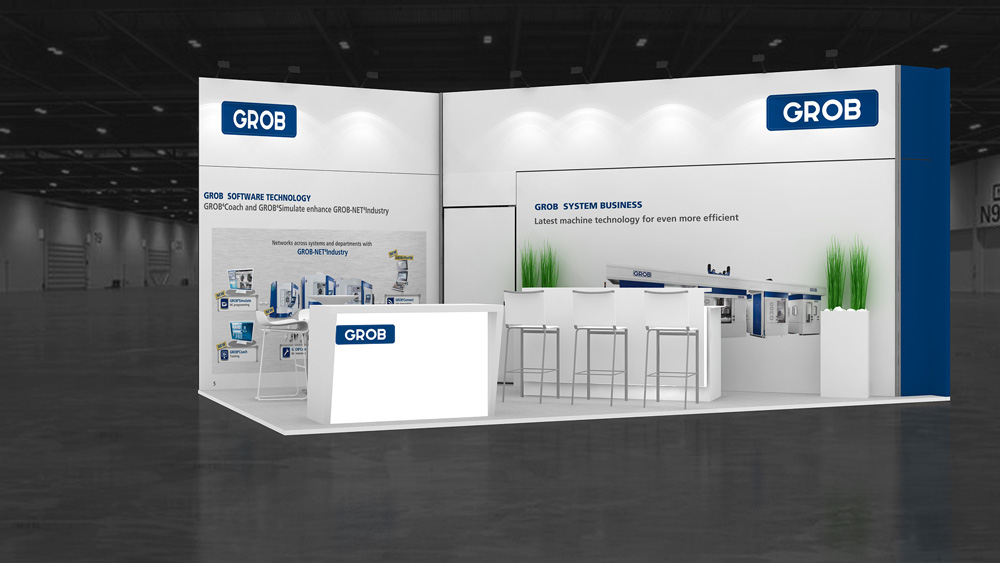 3x3 exhibition stand
