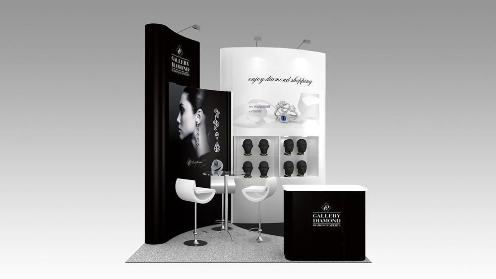 Corner Exhibition Stands Alone : M corner exhibition stands