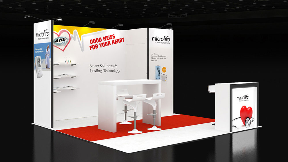 exhibition stands hire