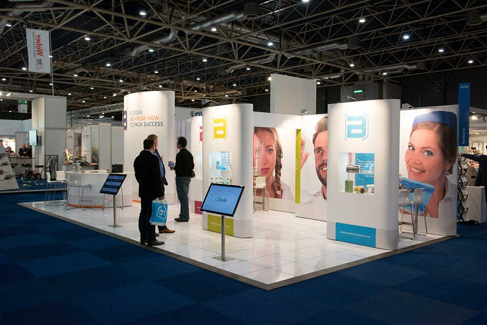 Exhibition Displays : Exhibition stand design hire and build expo display service