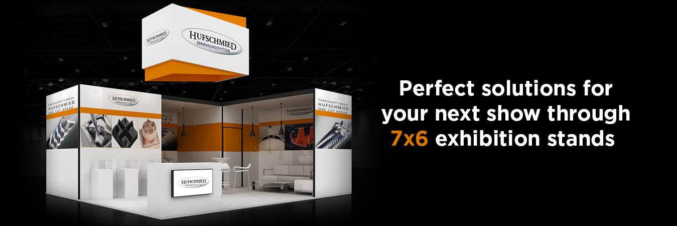 7X6 Exhibition Stands