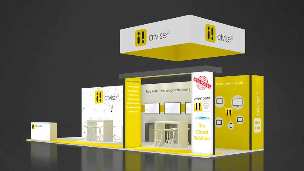 Corner Exhibition Stands Yellow : M two corner exhibition stands m exhibition stands re