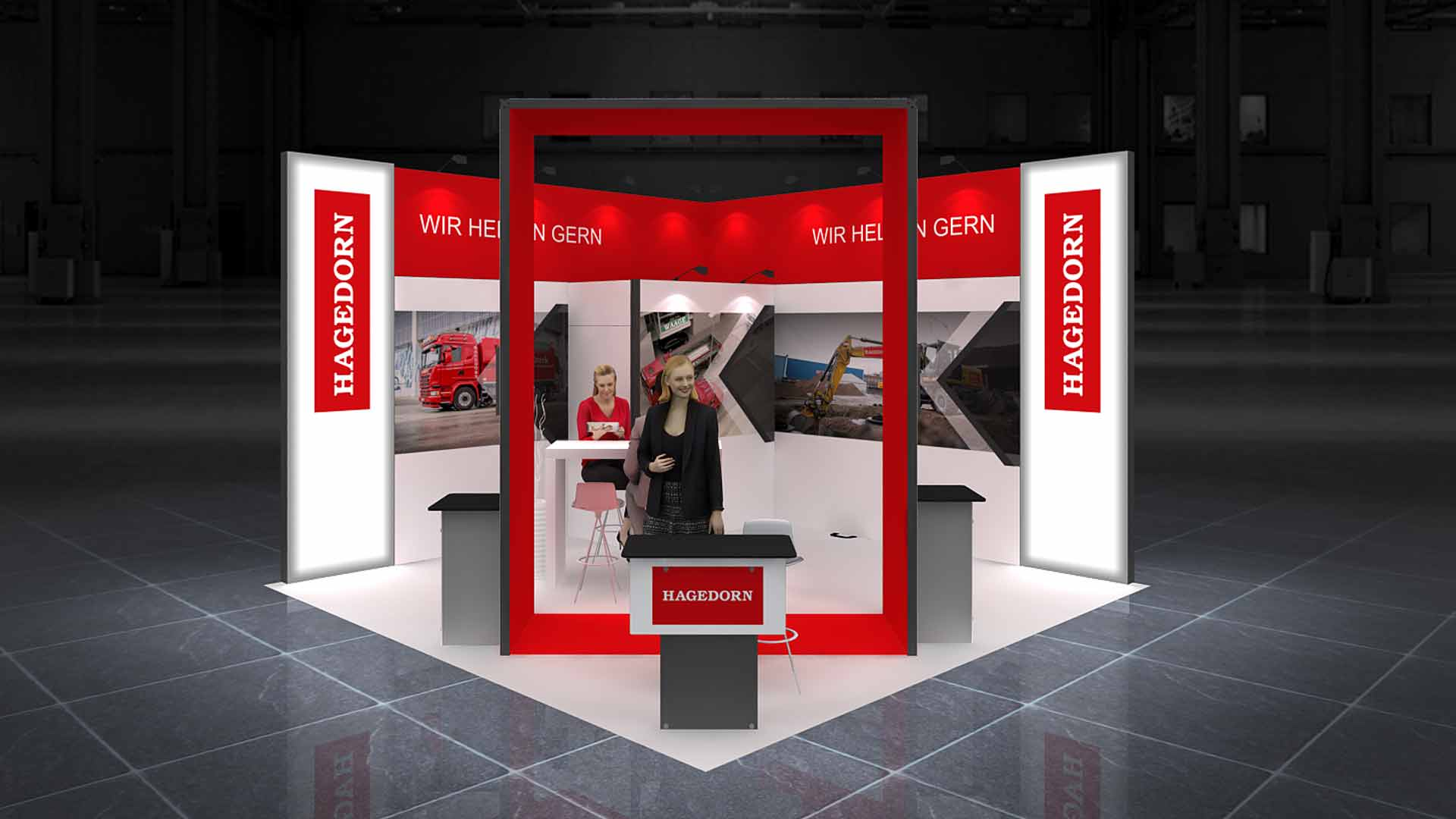 Exhibition Booth Pdf : M corner exhibition stands