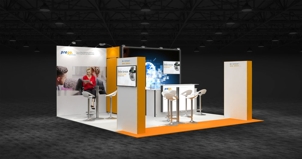 Exhibition Stand Corner : M two corner exhibition stands