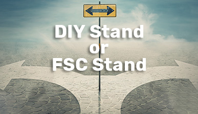 DIY-stand or FSC stand