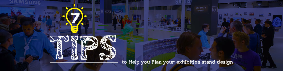 Tips to help you plan your exhibition stand design